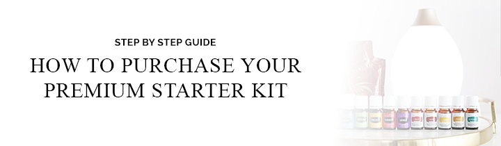 Click here for a step by step guide to purchase your premium starter kit