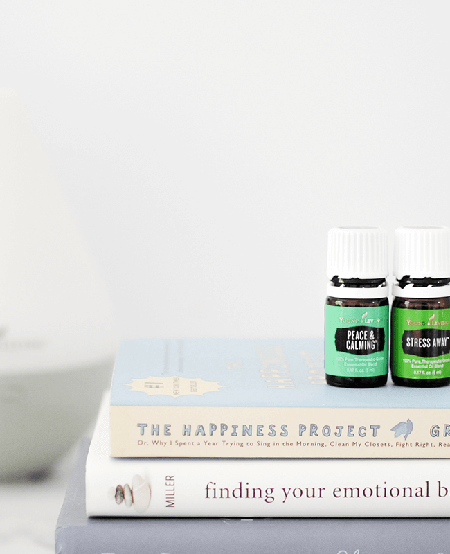 Essential oils and a diffuser