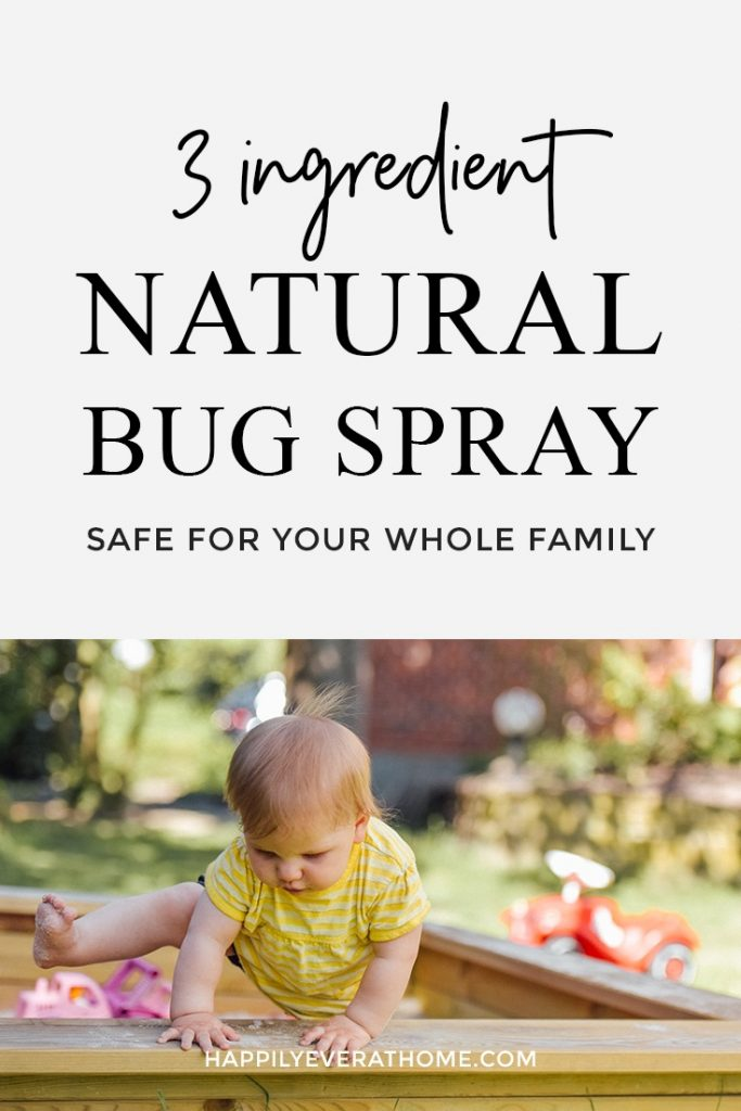 DIY this safe and natural bug spray using essential oils