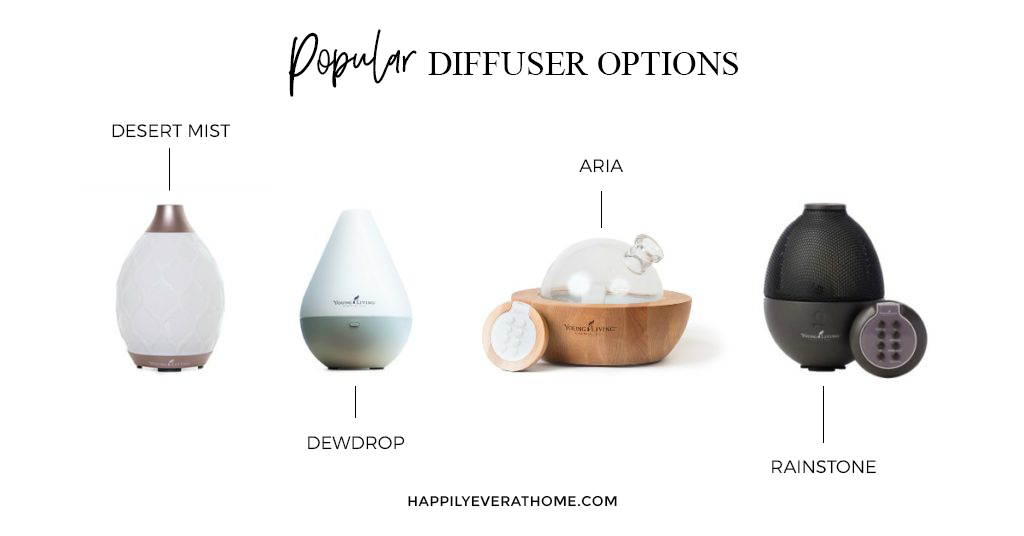 4 Most Popular Diffuser Options